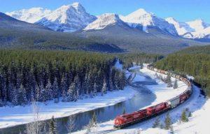 Ferrocarril Transiberiano Invierno.