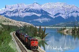 Ferrocarril Transiberiano Verano.